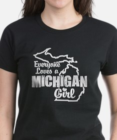 Everyone Loves a Michigan Girl Tee