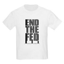 End The Fed Bar Code T-Shirt