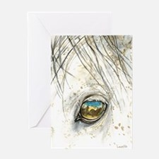 Through His Eyes Greeting Card