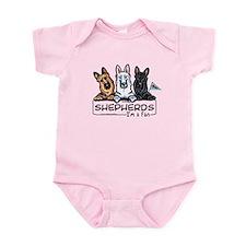 German Shepherd Fan Infant Bodysuit