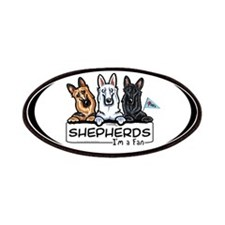 German Shepherd Fan Patches