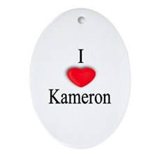 Kameron Oval Ornament