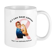 Cute Breast cancer pink Mug