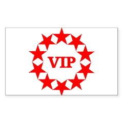 VIP Sticker (Rectangle 10 pk)