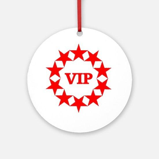 VIP Ornament (Round)