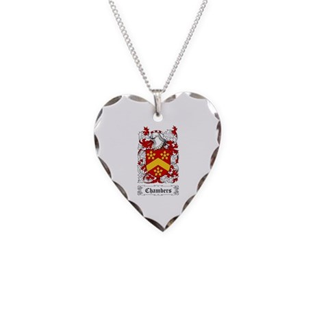 Chambers Necklace Heart Charm