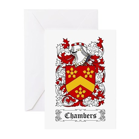 Chambers Greeting Cards (Pk of 20)