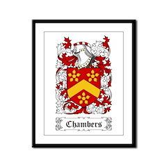 Chambers Framed Panel Print