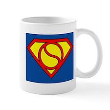 Tennis Superman Mug