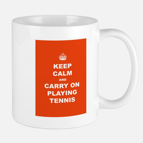 Keep Calm Tennis Mug