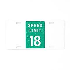 Archie Manning Tribute Aluminum License Plate