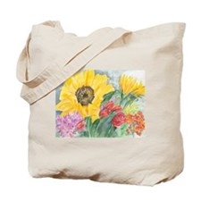 Courtney's Sunflower Tote Bag