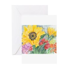 Courtney's Sunflower Greeting Card