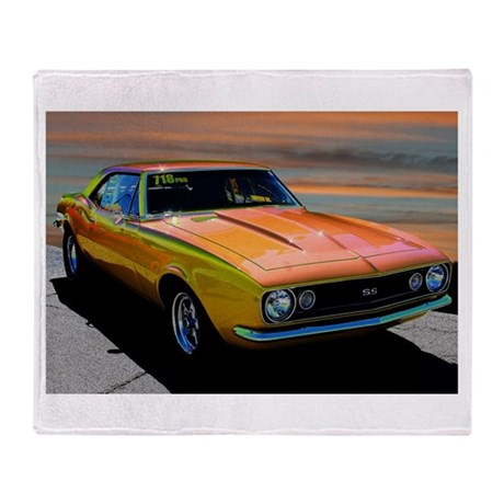 Camaro Beach Throw Blanket