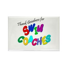 Swim Coaches Rectangle Magnet (10 pack)