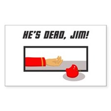 He's Dead Jim Decal