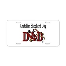 Anatolian Shepherd Dog Aluminum License Plate