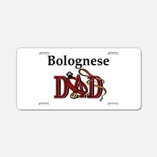 Bolognese Dad Aluminum License Plate