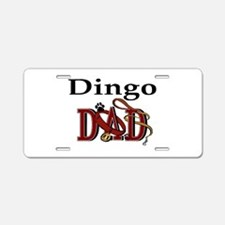 Dingo Dad Aluminum License Plate