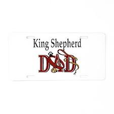 King Shepherd Aluminum License Plate