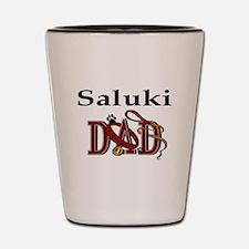 Saluki Dad Shot Glass