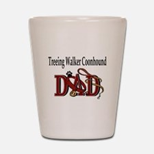 Cute Treeing walker coonhound Shot Glass