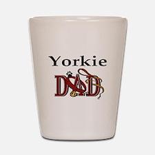 Yorkie Dad Shot Glass