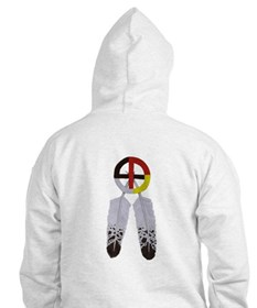 Indian Smiley Face Hoodie