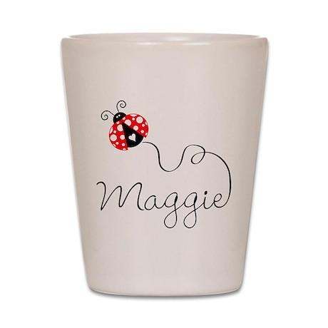 Ladybug Maggie Shot Glass