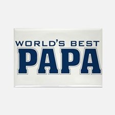 Cute Papa Rectangle Magnet