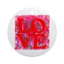 LOVE III Ornament (Round)