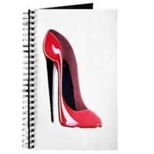 Black heel red stiletto shoe Journal