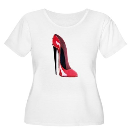 Black heel red stiletto shoe Women's Plus Size Sco