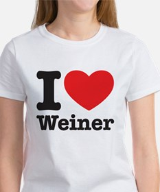 I Heart Weiner Women's T-Shirt