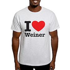 I Heart Weiner T-Shirt