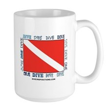 Multi Dive Flag Mug