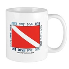 Multi Dive Flag Mug