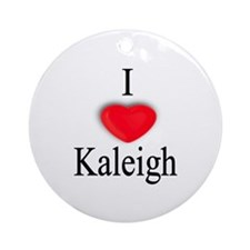 Kaleigh Ornament (Round)