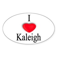 Kaleigh Oval Decal
