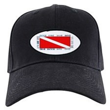 Multi Dive Flag Baseball Hat
