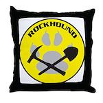 Rockhound Throw Pillow