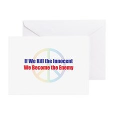 Kill the Innocent Greeting Cards (Pk of 10)