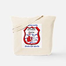 Merchant Marine Logo Tote Bag