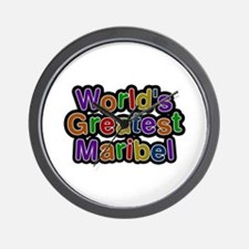 World's Greatest Maribel Wall Clock