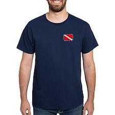 Multi Dive Flag (pocket) T-Shirt