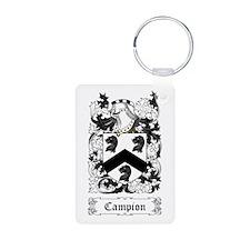 Campion Aluminum Photo Keychain