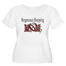Bergamasco Dog Mom T-Shirt