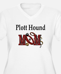 Plott Hound Mom T-Shirt