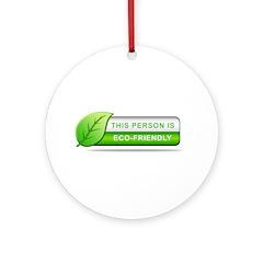 Eco Friendly Ornament (Round)