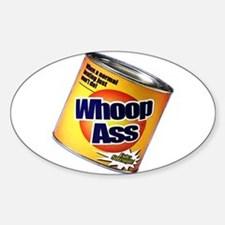 Funny Can Of Whoop Ass Decal